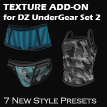 Texture Add On for DZ UnderGear Set 2 for Genesis