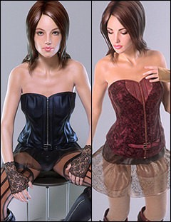 Domina - Outfit for Genesis 2 Female(s)