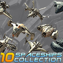 10 Spaceships Collection