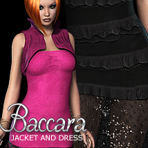 2P3D3DS Baccara Jacket & Dress