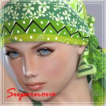 70s headscarf