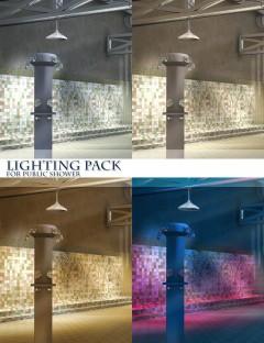 Lighting Pack for Public Shower