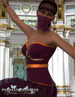 RW Persian Princess for Genesis 2 Female(s)