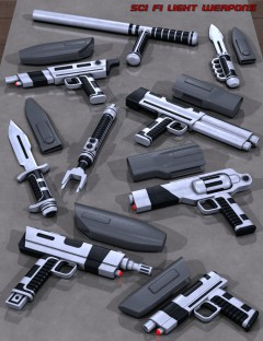 Sci Fi Light Weapons