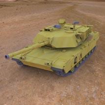 M1A1 Abrams (for 3D Studio Max)