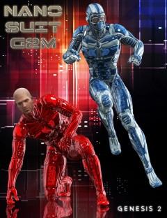 Nano Suit for Genesis 2 Male(s)