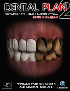 Dental Plan 2 HD for Genesis 2 Male(s)