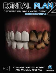 Dental Plan 2 HD for Genesis 2 Female(s)