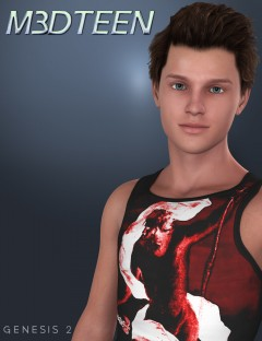 M3DTeen HD for Genesis 2 Male(s)