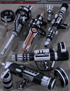 Sci Fi Heavy Weapons