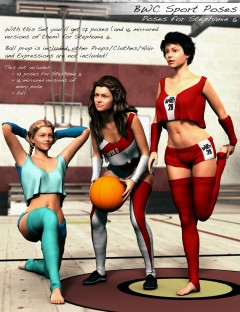 BWC Sport Poses for Stephanie 6