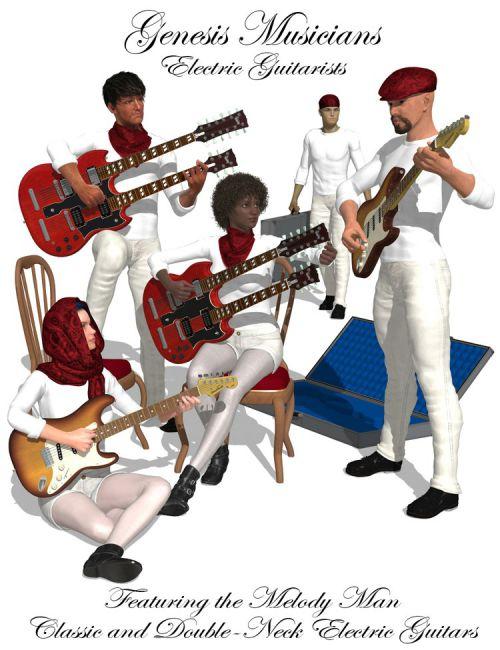 Genesis Musicians Electric Guitarists