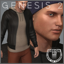 Downtown Streetwear for Michael 6- Genesis 2 Male(s)