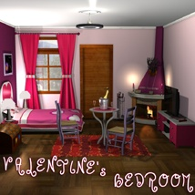 Valentine's Bedroom