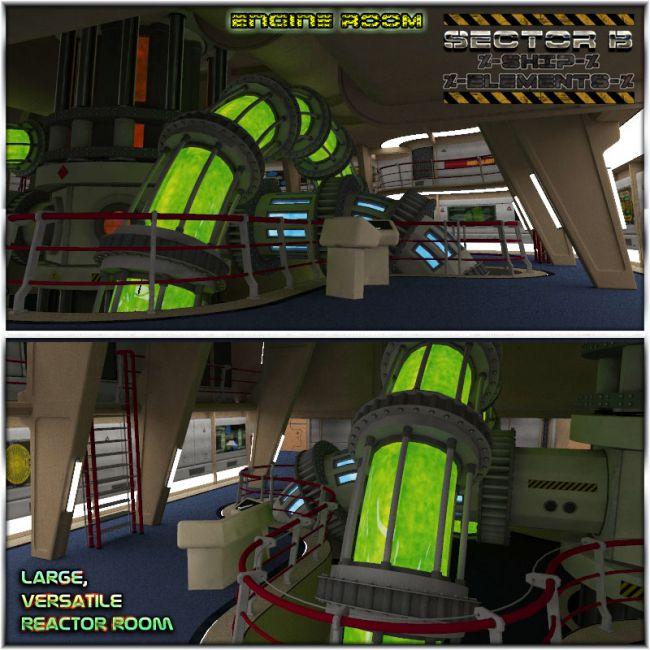 Ship Elements B3: Engine Room