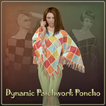 Dynamic Patchwork Poncho