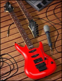 Guitar and Props