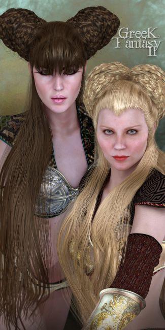 SAV Greek Fantasy Hair II