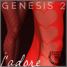 J'adore SuperHose Infinite for Genesis 2 Female(s)