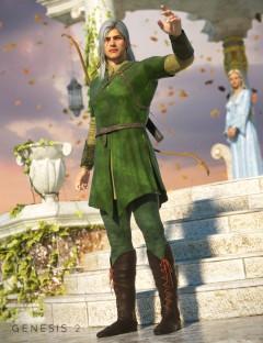 Elven Warrior for Genesis 2 Male(s)