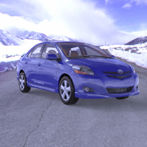 Toyota Yaris (for Poser and Vue)