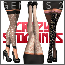Crazy Stockings for SuperHose Infinite