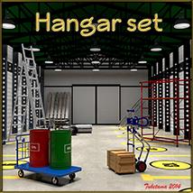 Hangar set