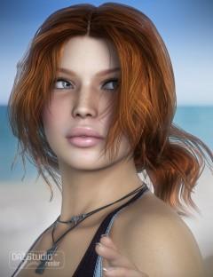 Hawthorn Hair for Genesis and Genesis 2 Female(s)