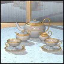 Collectibles: Tea Set