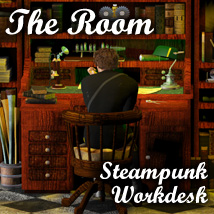 Steampunk Work Desk- The Room