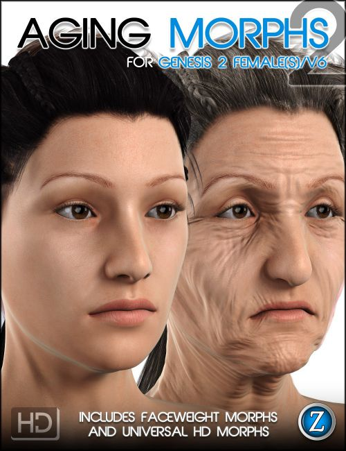 Possible facial wrinkles in poser 7