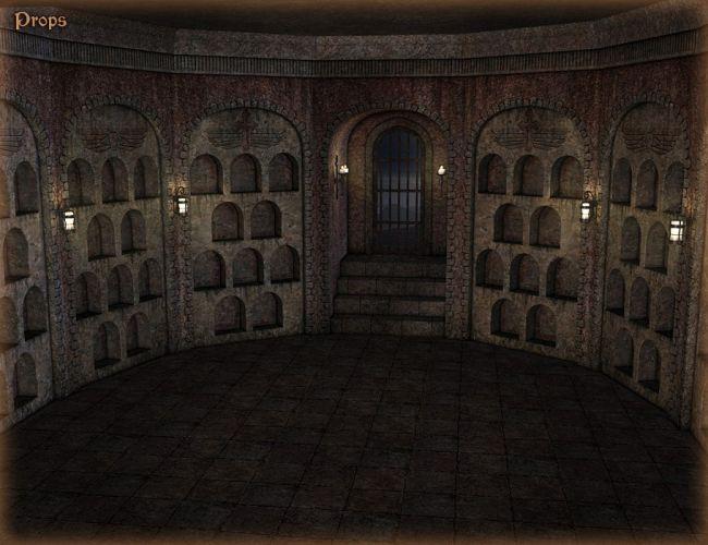 Dm S Secret Chamber Interiors For Daz Studio And Poser