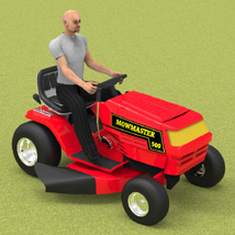 Ride On Mower (for Poser)