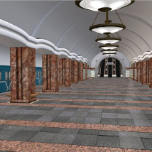 Metro Subway Station