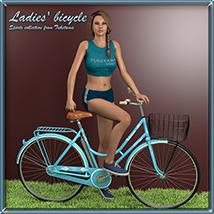 Ladies' bicycle