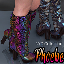 NYC Collection: Lace-up Boots Phoebe