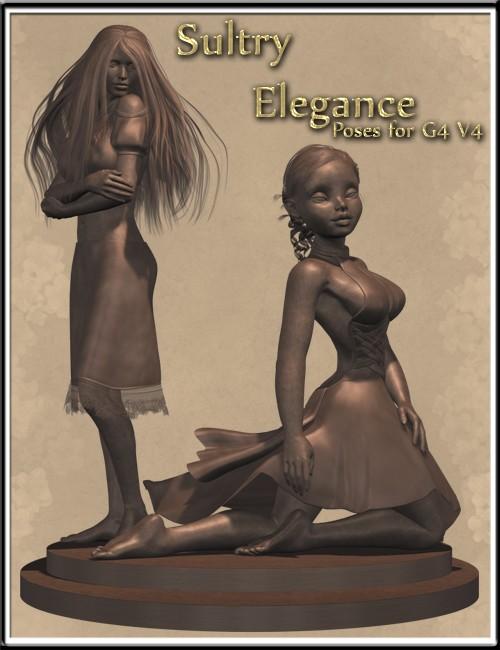 Sultry Elegance Poses for G4 V4