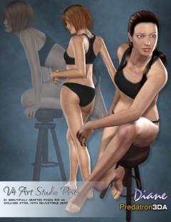 Art Studio Poses V4