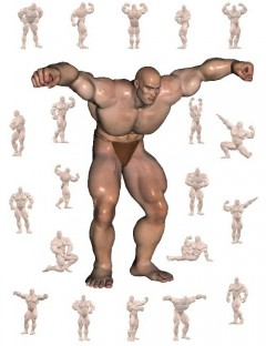 Freak Bodybuilder Poses