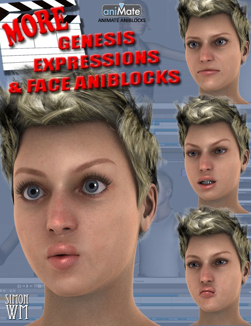 MORE Genesis Expressions and Face aniBlocks