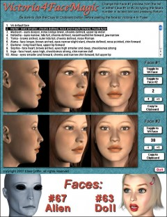 V4 Face Magic PC