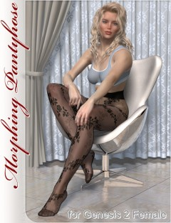 Morphing Pantyhose for Genesis 2 Female(s)