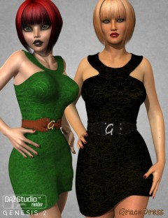 Grace Dress for Genesis 2 Female(s)