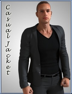 Casual Jacket for Genesis 2 Male(s)