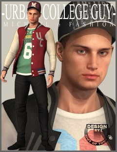 Urban College Guy Fashion for Genesis 2 Male(s)