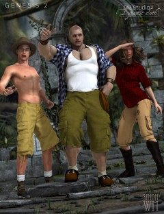 Dynamic Casuals for Genesis 2 Male(s)