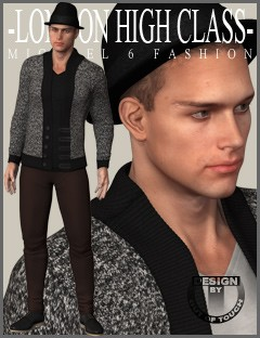 London High Class Fashion for Genesis 2 Male(s)