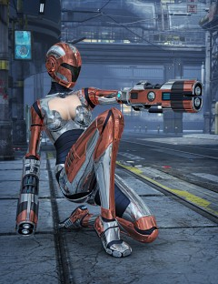 Genesis 2 Female Bot Armor Set 2