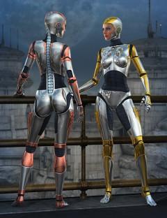 Genesis 2 Female Bot Armor