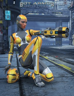 Genesis 2 Female Bot Armor Bundle